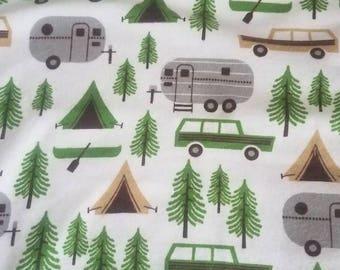 Xmas camping book sleeve