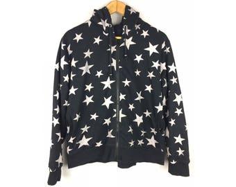 Nice Design Full Print of Star Hoodies Jackets Long Sleeve Hip Hop Style