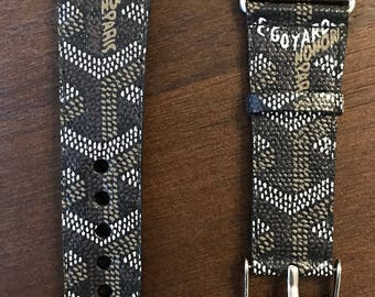 Goyard Apple Watch band