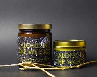 Alone in the Woods Soy Candle