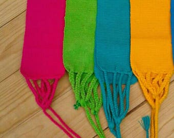 Mexican Hand Woven Belts/Colorful belts/adjustable/ONE SIZE