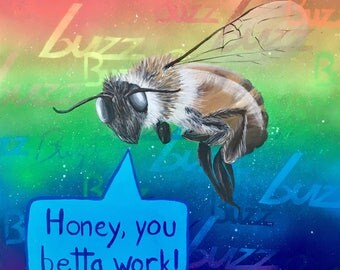 Proud Honey Bee