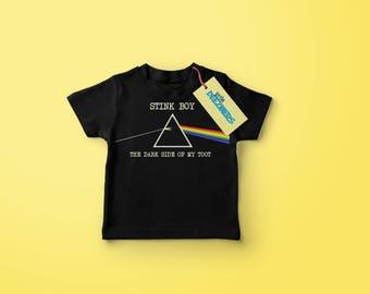 Stink Boy - Baby Rib Short Sleeve Lap T