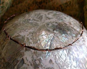 Elven Circlet - Braided Copper Circlet