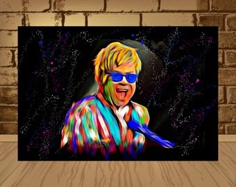 Elton John Etsy
