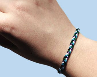 Cute Customizable Braided Friendship Bracelet