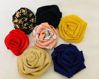 Folded Rose Lapel Pin