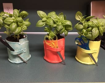 Herb Pot - Planter - Pencil Holder