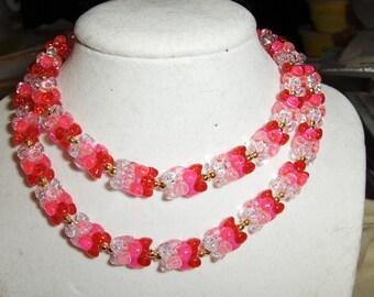 Color Blocks Combo necklaces