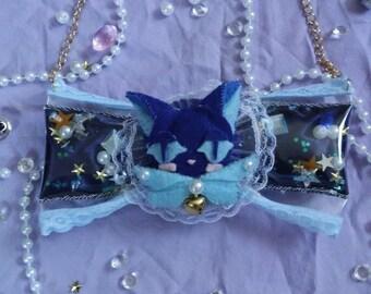 CardCaptor Sakura Suppi bow necklace