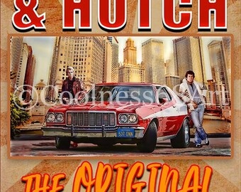 Starsky and Hutch Font Style Original Art Print