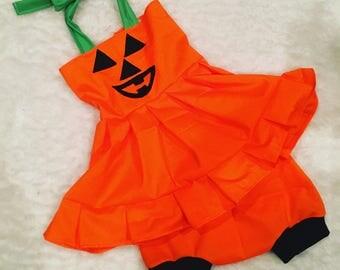 Hallloween, pumpkin,Dress set, set, baby set boutique, nb, 3,6,9,12,24 months, 2,3t