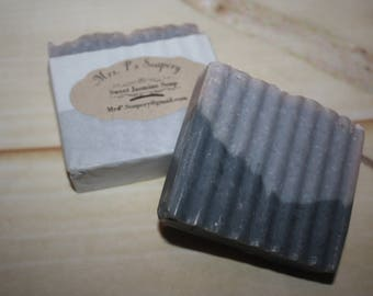 Sweet Jasmine Grey and Blue Soap