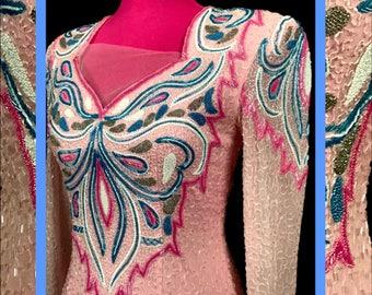 pink vtg dress//never worn