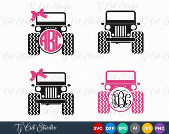 Jeep SVG, Jeep svg cut files, car svg, Jeep Girl SVG, Jeep, Jeep cut image,Jeep, Svg Files for Silhouette Cameo or Cricut