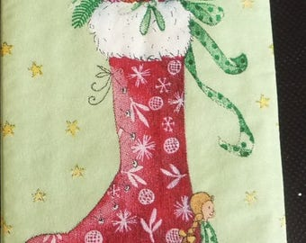Tissue paper boot Christmas