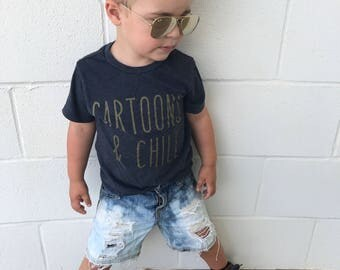Boy's Ombré Cutoffs