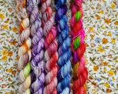 Willy Wonka And The Chocolate Factory inspired mini skein set.5 x 10g