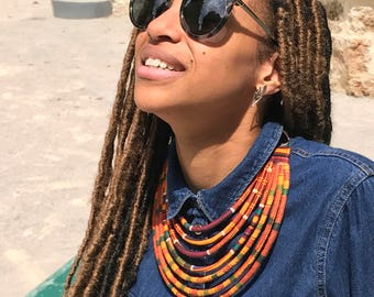 African ethnic beautiful necklace
