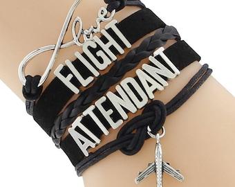 Flight attendant bracelet, stewardess, flight attendants bracelet