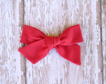 Red Mila Bow