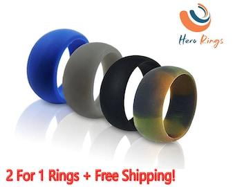 rubber wedding ring etsy