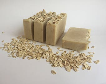 Oats & Shea Butter All Natural Goat Milk Soap