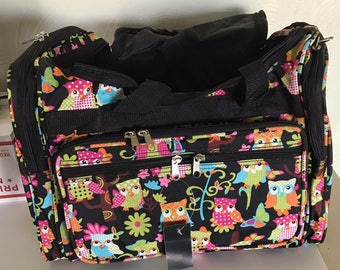 NEW Owl Duffle Bag