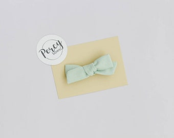 Small bow | mint