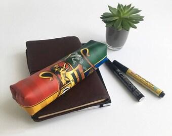 Hogwarts Houses Pencil Case Harry Potter Pencil Pouch Hogwarts Houses Paintbrush Case