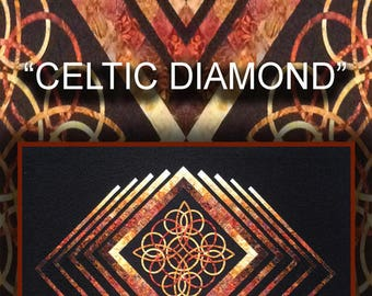 Celtic Diamond Quilt Pattern