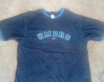 Vintage umbro big logo shirt