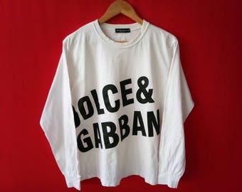 vintage dolce & gabbana medium mens t shirt