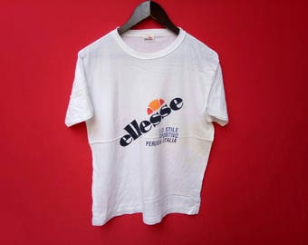 vintage ellesse casual small size t shirt