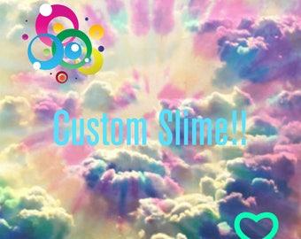 Custom slime