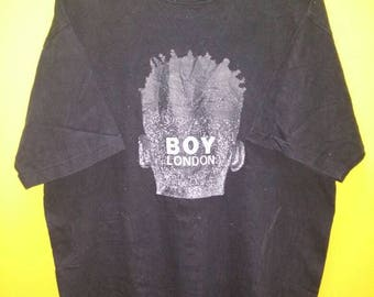 Vintage Boy London T Shirt Rare Punk