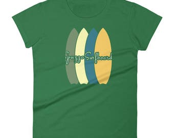Spuzzo Surfboards Women's t-shirt