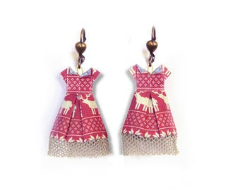 "Earrings ""Dress"""
