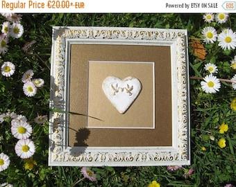 summer discount 20% Gold heart wall decor/ gold heart home decor wall art/ wall decor living room/ gold heart/ wall art/ heart wall art/ gol