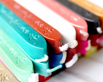 22 Color choose sealing wax / wax sticks for wax seal stamp/ invitation seal envelopes seal gift seal/Sealing Wax Sticks for Stamps