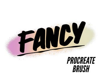 Fancy | Custom Sign Painting Brush Set for Procreate | iPad Pro | Apple Pencil | Instant Download