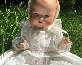 Antique Armand Marseille Germany 351/2(1/2)K - Dream Baby - Bisque Head