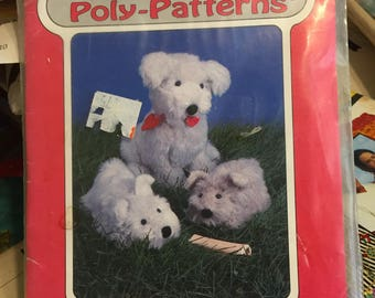 Penny & Pup from Poly-fil Poly-Patterns for stuffed animals