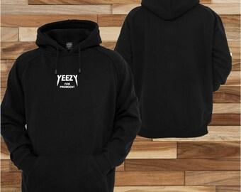 Yeezy for president Kanye west 2020   ; sweatshirt jacket Hoodie pull over