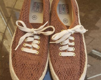 cotton sneakers loafers cocoa brown eu 41 uk 6,5