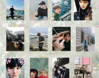 BTS X BOYFRIEND | 방탄소년단 Photo Prints