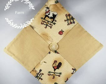 Free Ship! Select Your Style - Handmade Decorative Farm Quilted Pot Holders