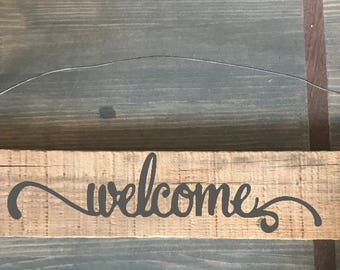 Reclaimed Barnwood Sign