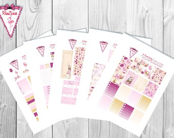 Easter - Printable Erin Condren Weekly Kit w/Cut Line