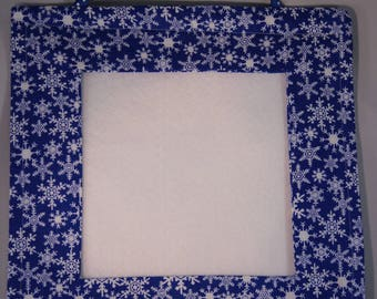 Fabric Picture Frame for Cross-stitch, Needlework or Photos
